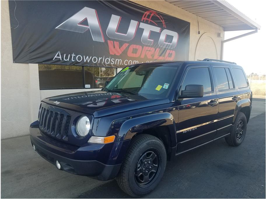 2016 JEEP PATRIOT SPORT SUV 4D Blue No Color ABS 4-Wheel Air Conditioning AMFM Stereo Blue