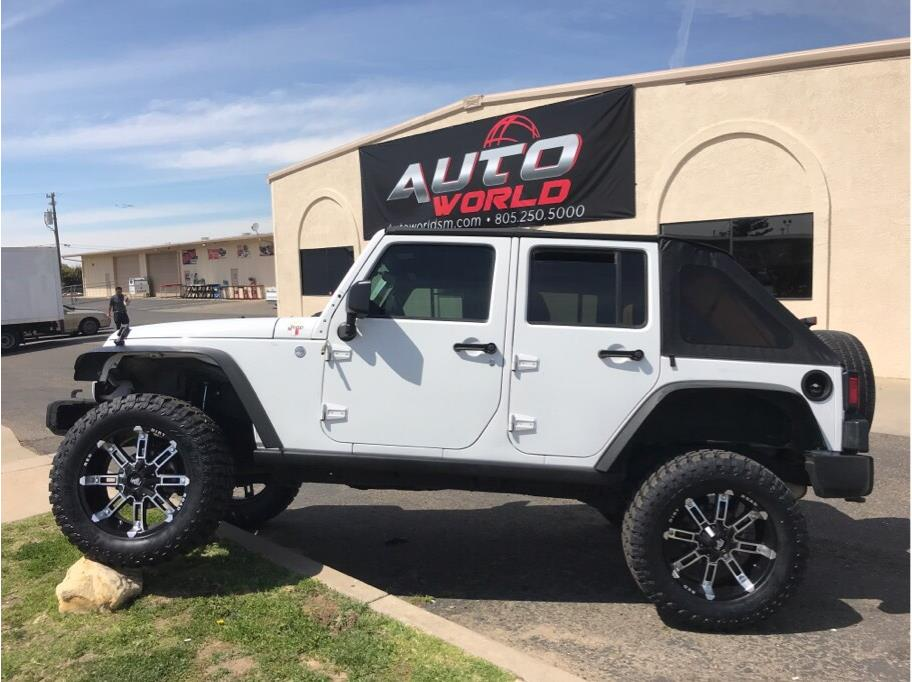 2012 JEEP WRANGLER UNLIMITED SPORT SUV 4D White No Color ABS 4-Wheel Air Conditioning Alarm