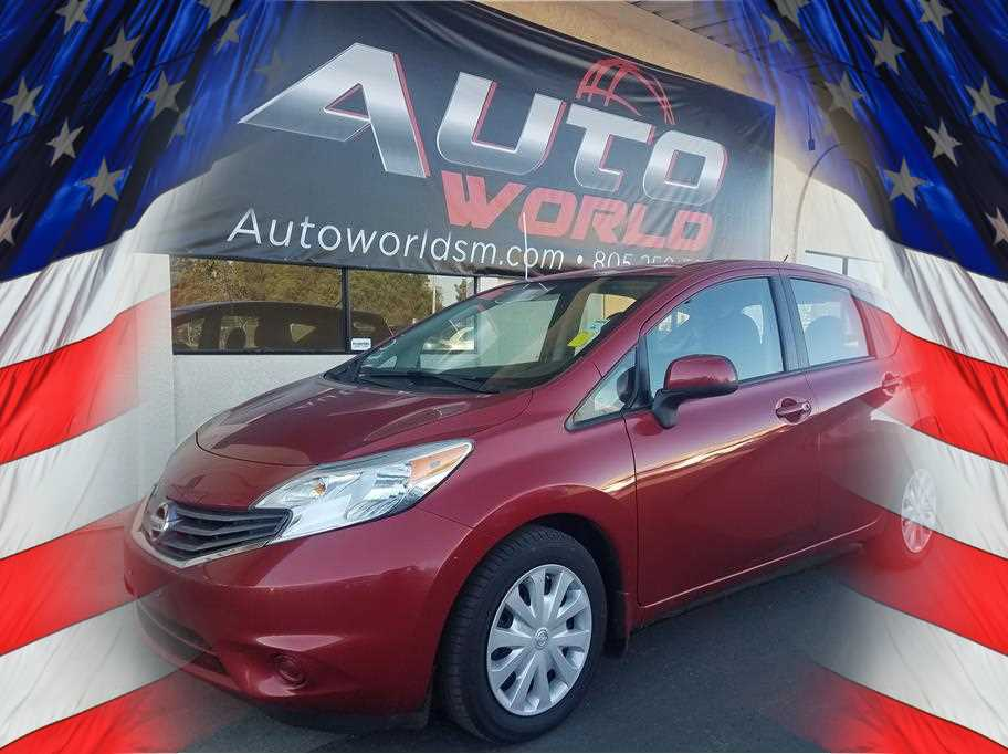 2014 NISSAN VERSA NOTE SV HATCHBACK 4D Red No Color ABS 4-Wheel Air Conditioning AMFM Stere
