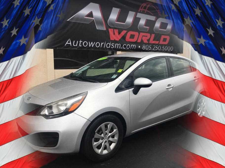 2012 KIA RIO LX SEDAN 4D Silver No Color ABS 4-Wheel Air Conditioning AMFM Stereo CDMP3 S