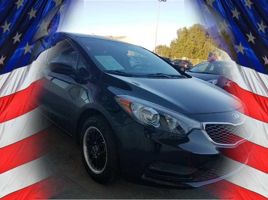 2014 KIA FORTE LX SEDAN 4D Black No Color ABS 4-Wheel Air Conditioning AMFM Stereo Bluetoot