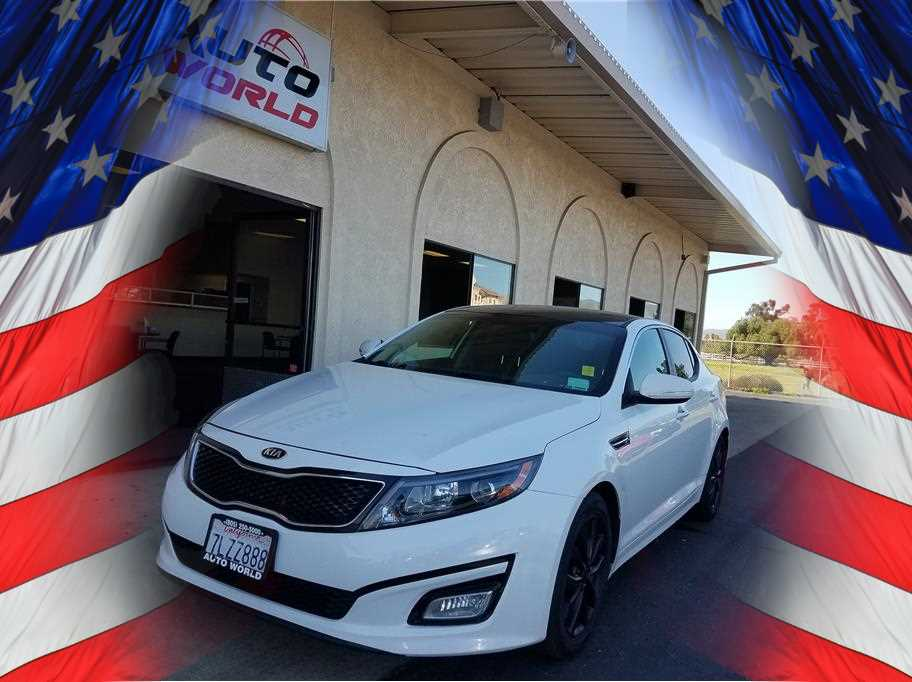 2015 KIA OPTIMA LX SEDAN 4D White No Color ABS 4-Wheel Air Conditioning Alarm System AMFM S