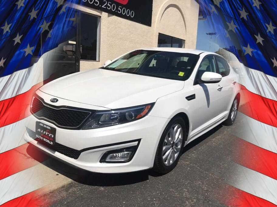 2015 KIA OPTIMA LX SEDAN 4D White No Color ABS 4-Wheel Air Conditioning Alarm System Alloy W