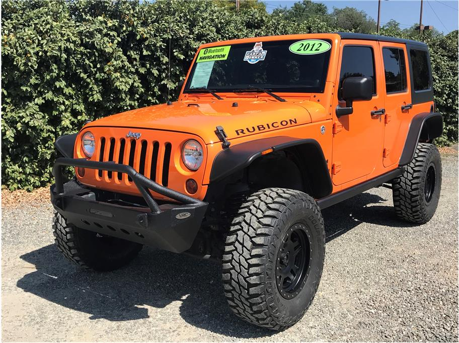 2012 Jeep Wrangler Unlimited Rubicon Sport Utility 4D SOLD!!!