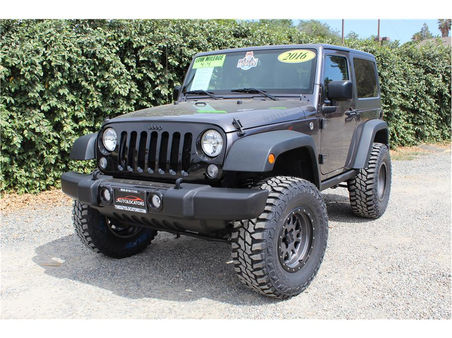2016 Jeep Wrangler Willys Wheeler Sport Utility 2D SOLD!!!