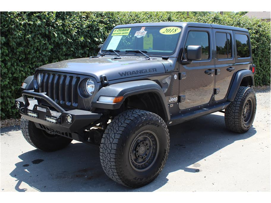 2018 Jeep Wrangler Unlimited All New Sport SOLD!!!