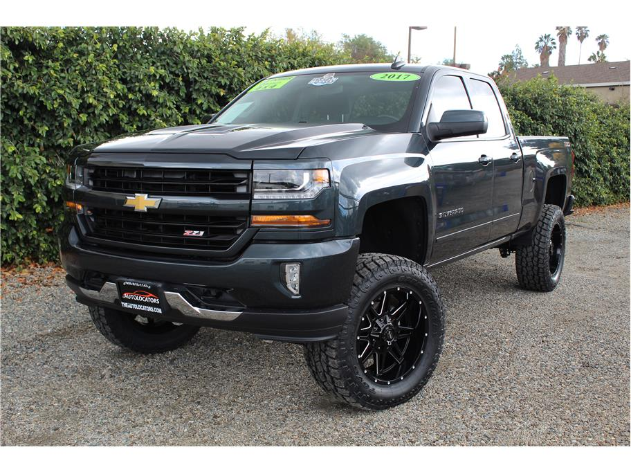 2017 Chevrolet Silverado 1500 Double Cab Z71 LT Pickup 4D 6 1/2 ft