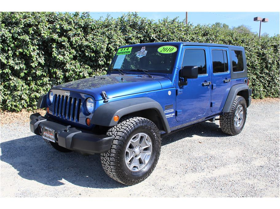 2010 Jeep Wrangler Unlimited Sport SUV 4D