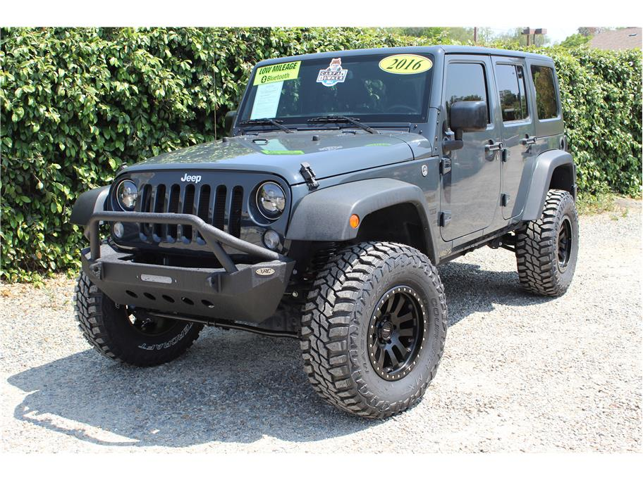 2016 Jeep Wrangler Rhino Gray SOLD!!!