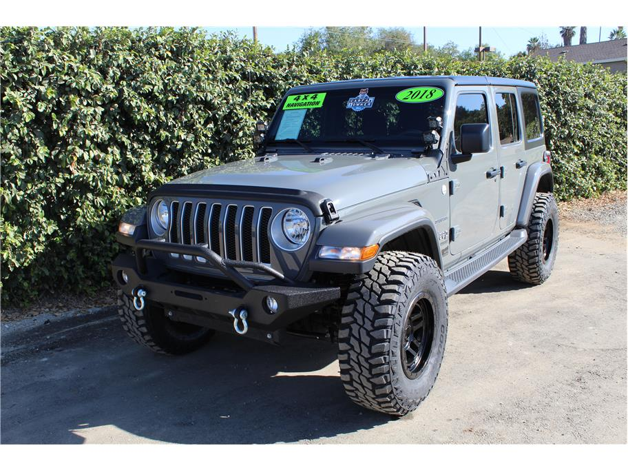 2018 Jeep Wrangler Unlimited Sting Gray SOLD!!!