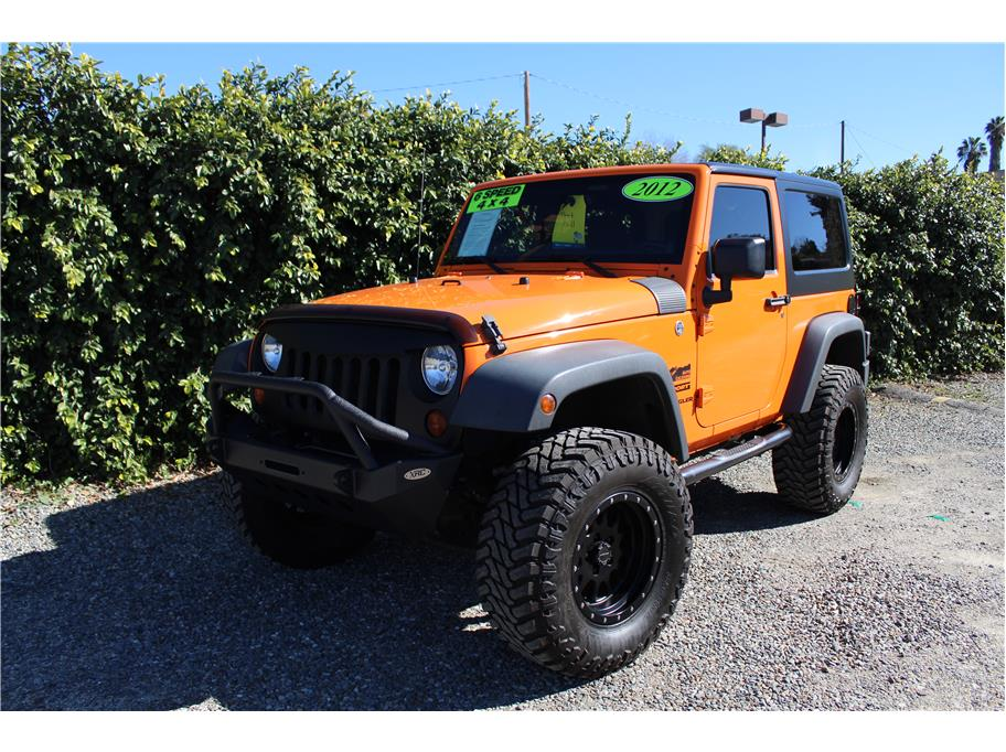 2012 Jeep Wrangler Orange Crush SOLD!!!