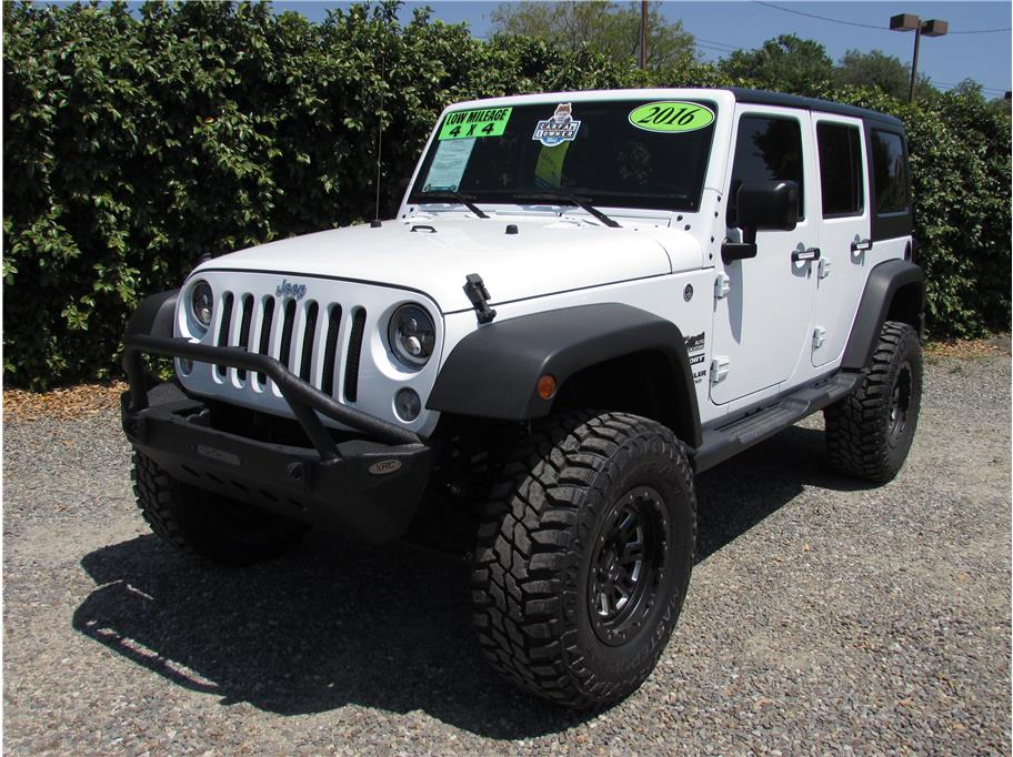 2016 Jeep Wrangler Unlimited Sport S Sport Utility 4D SOLD!!!