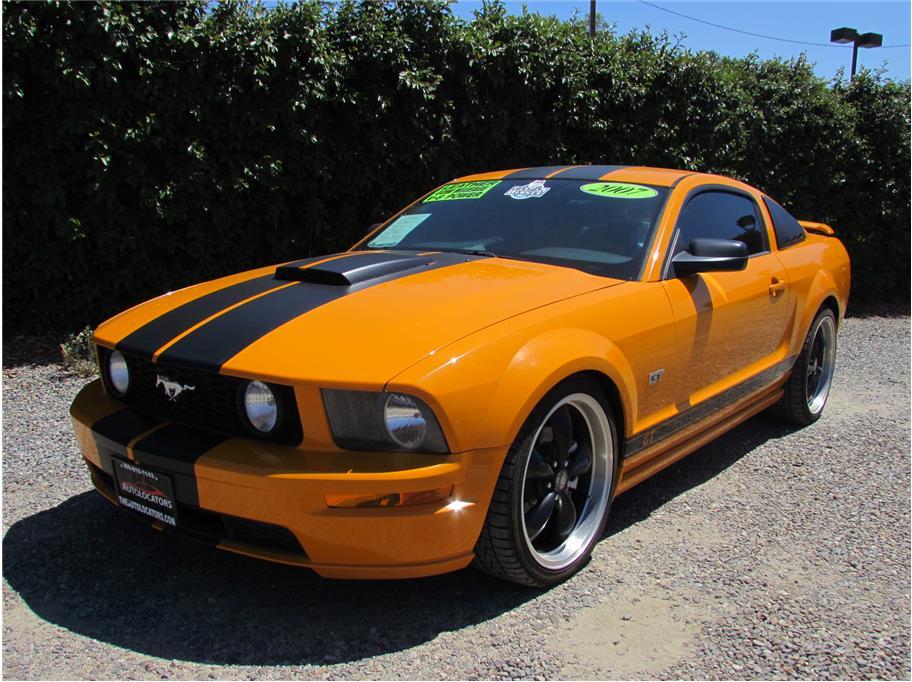 2007 Ford Mustang Valencia Orange
