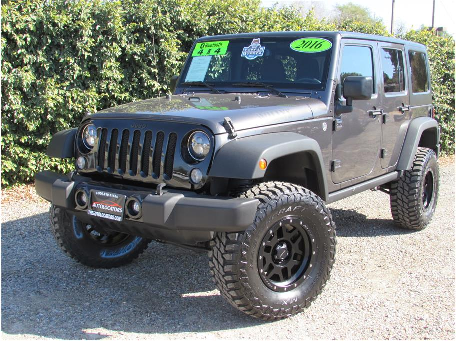 2016 Jeep Wrangler Unlimited Willys Wheeler Sport Utility 4D SOLD!!!