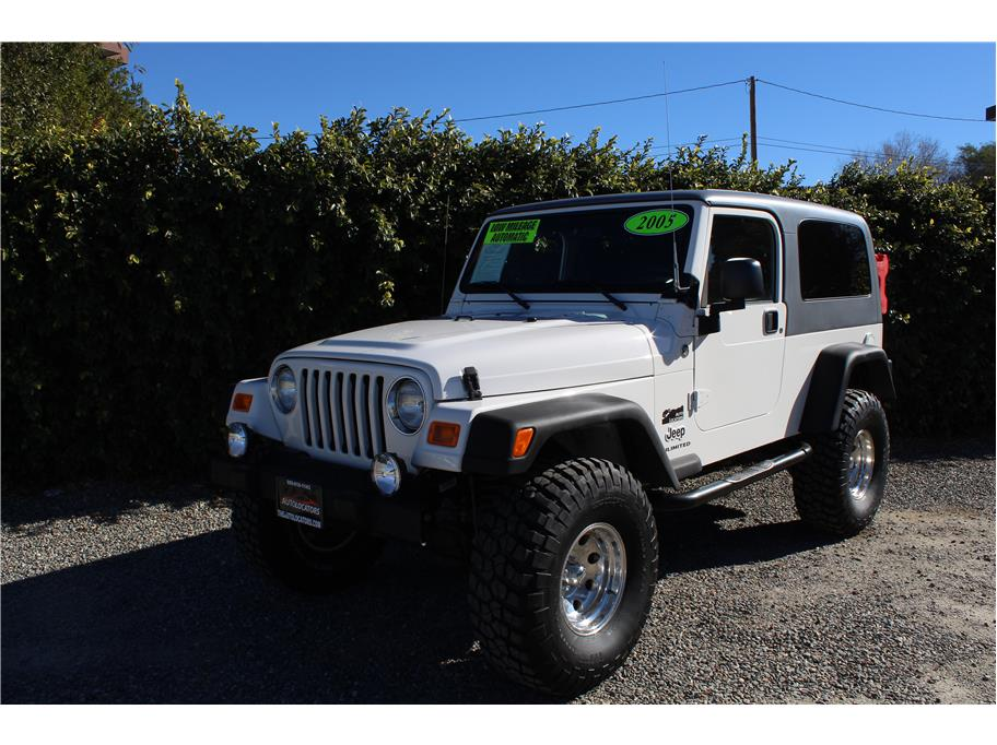 2005 Jeep Wrangler Unlimited Sport Utility 2D
