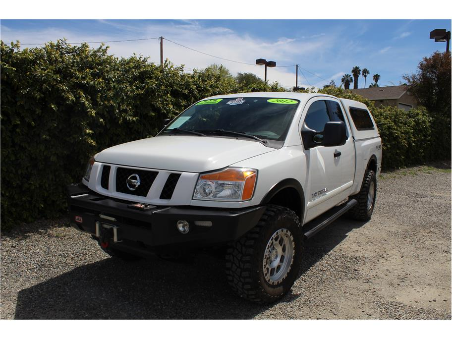 2012 Nissan Titan King Cab PRO-4X Pickup 4D 6 1/2 ft
