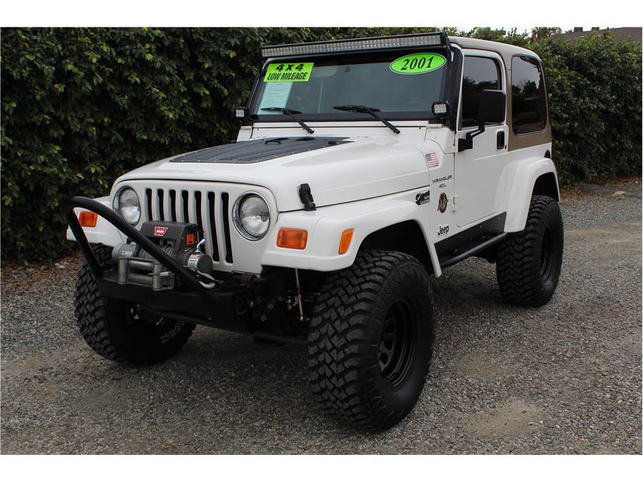2001 Jeep Wrangler Sahara Sport Utility 2D SOLD!!!
