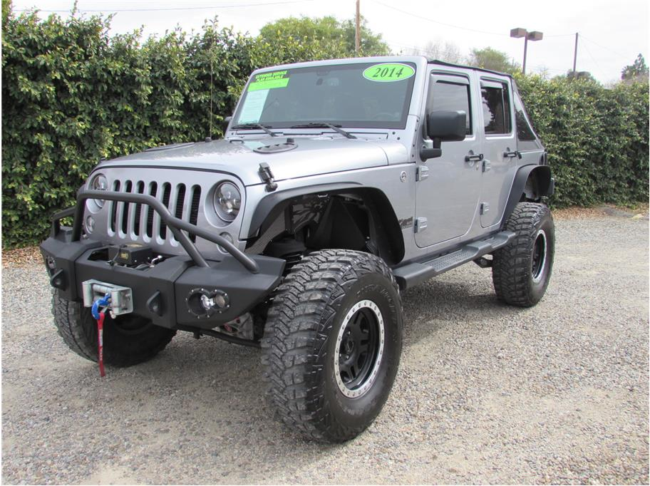 2014 Jeep Wrangler Unlimited Sport S SUV 4D SOLD!!!