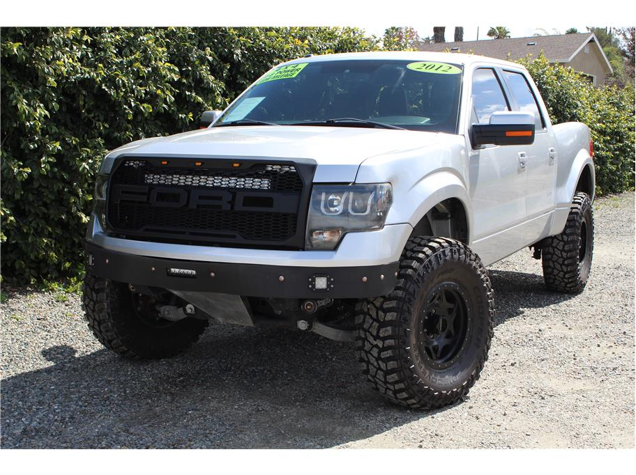 2012 Ford F150 SuperCrew Cab FX4 Pickup 4D 5 1/2 ft