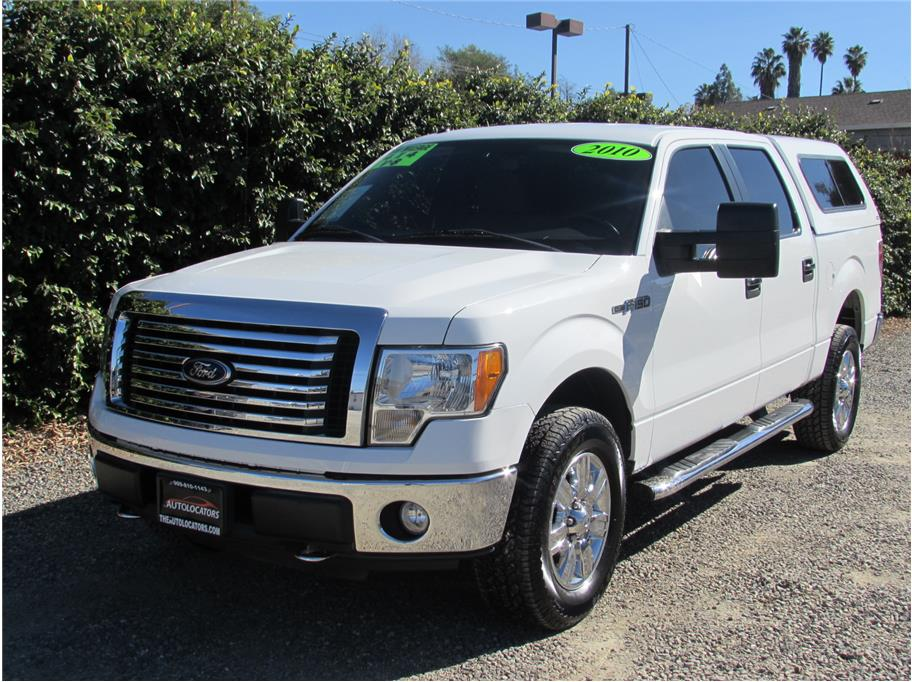 2010 Ford F150 SuperCrew Cab XLT Pickup 4D 5 1/2 ft