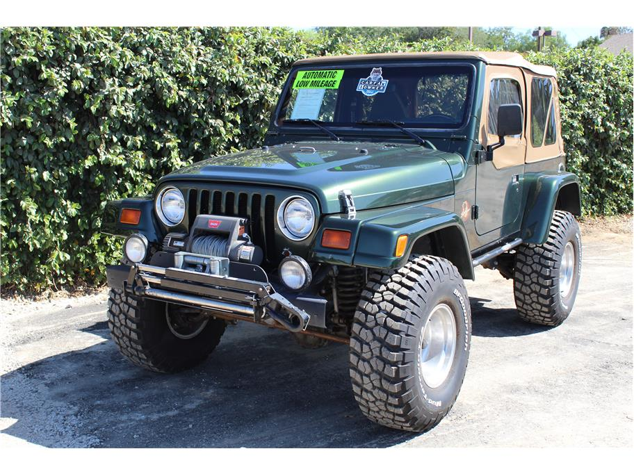 1997 Jeep Wrangler Sahara SOLD!!!