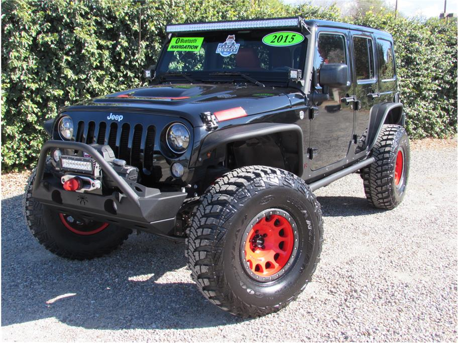 2015 Jeep Wrangler Unlimited Rubicon Sport Utility 4D SOLD!!!