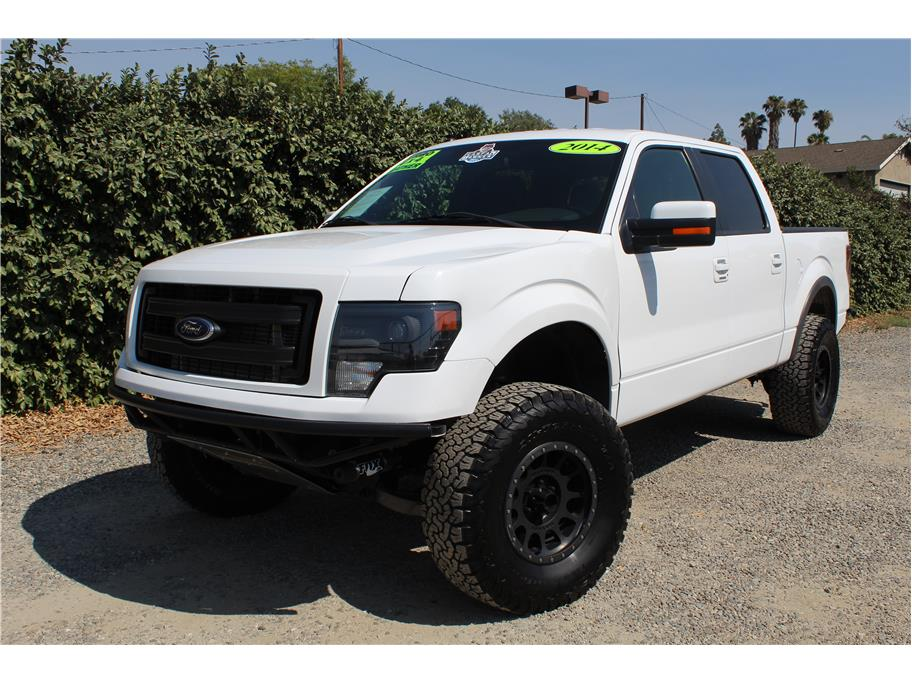 2014 Ford F150 SuperCrew Cab Long Travel