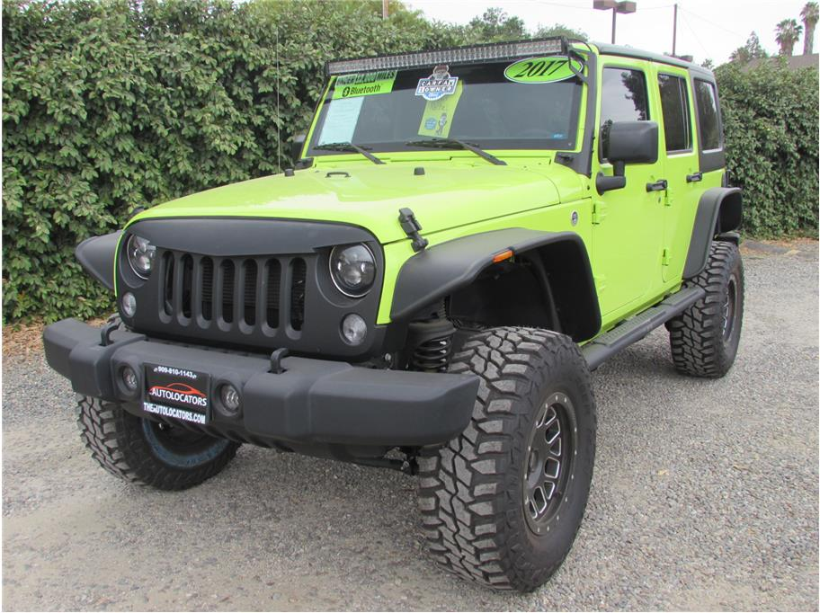 2017 Jeep Wrangler Unlimited Lifted Hyper Green SOLD!!!
