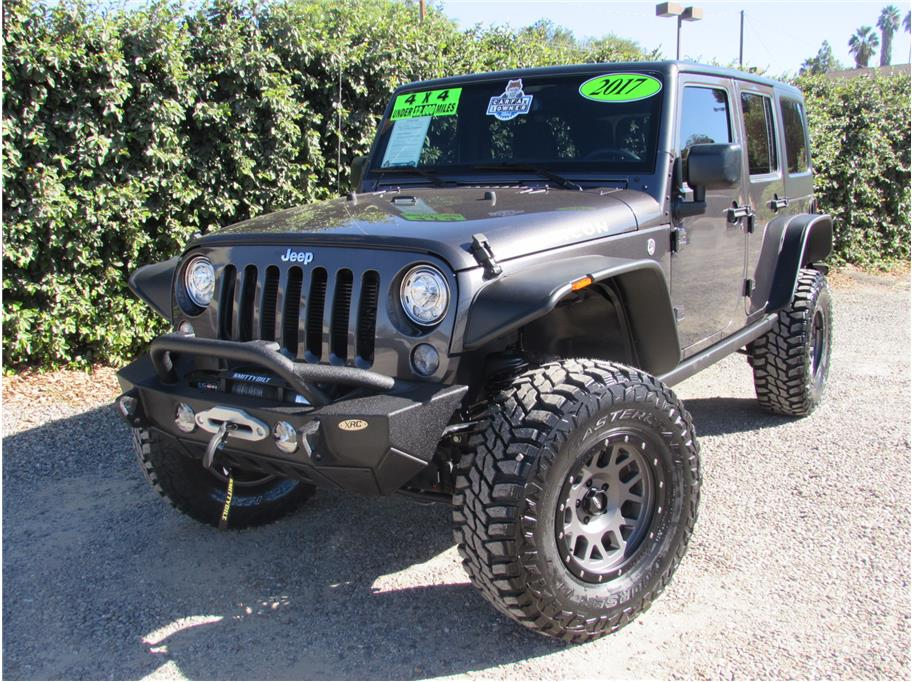 2017 Jeep Wrangler Unlimited Lifted SOLD!!!