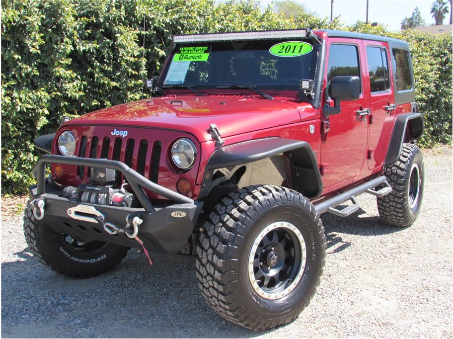 2011 Jeep Wrangler Unlimited Sport SUV 4D SOLD!!!