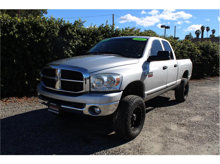 2007 Dodge Ram 2500 Quad Cab Laramie Pickup 4D 6 1/4 ft