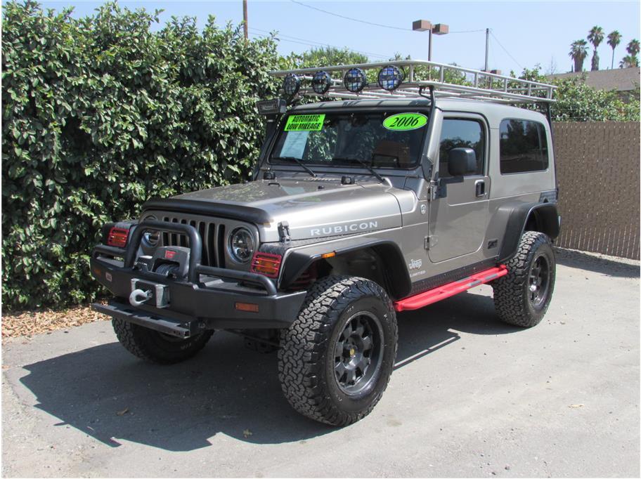 2006 Jeep Wrangler 4:56 gears