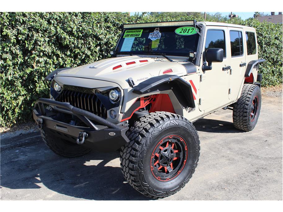 2017 Jeep Wrangler Unlimited Gobi
