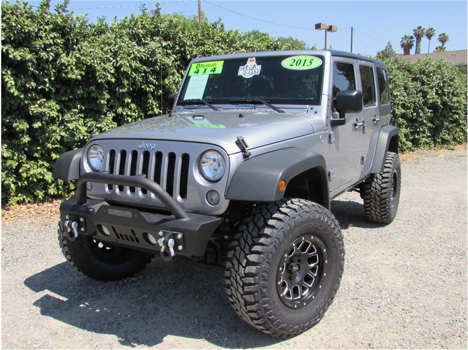 2015 Jeep Wrangler Unlimited Sport S SUV 4D SOLD!!!!