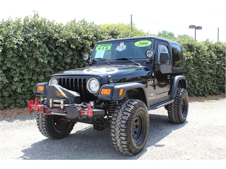 2006 Jeep Wrangler X SOLD!!!