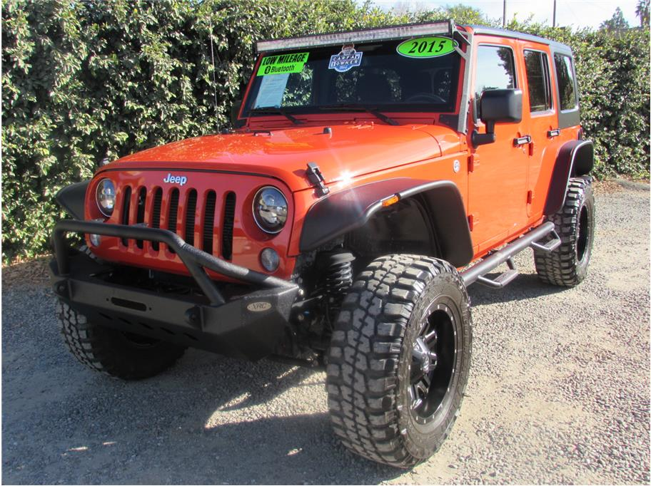 2015 Jeep Wrangler Unlimited Sport SUV 4D SOLD!!!