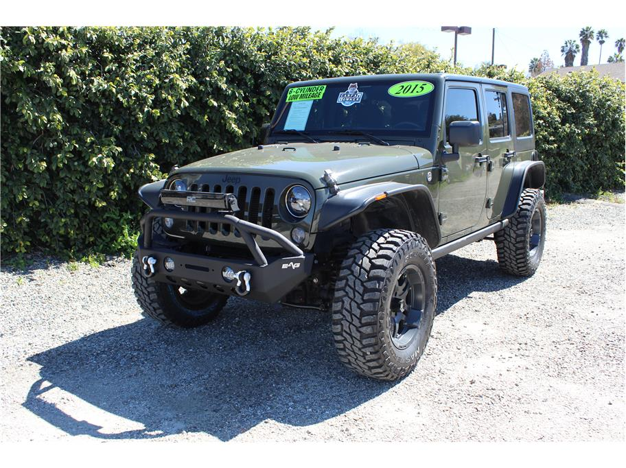 2015 Jeep Wrangler Unlimited Sport SOLD!!!