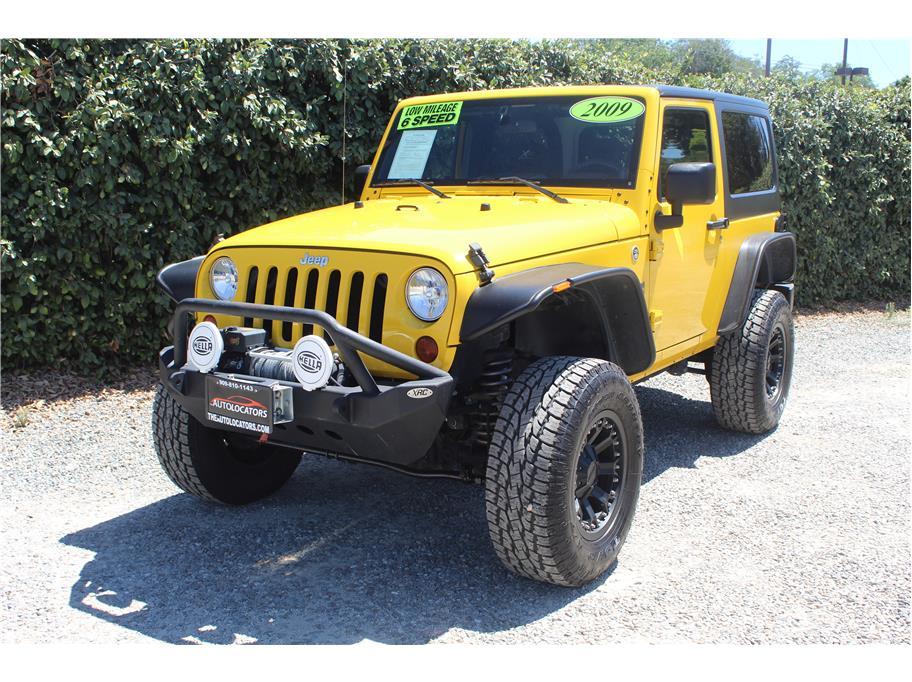 2009 Jeep Wrangler Lifted Hardtop