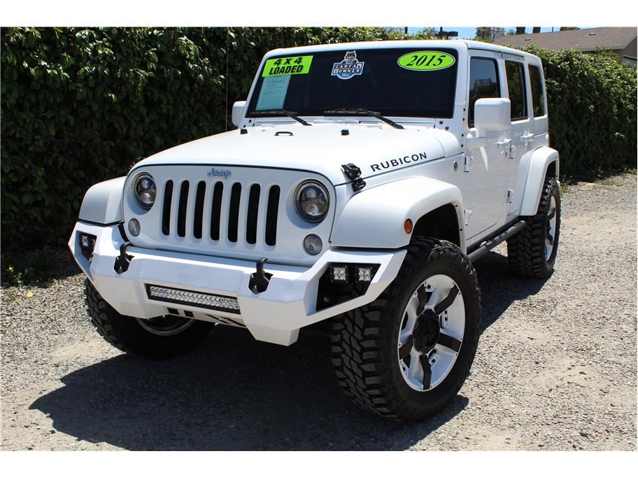 2015 Jeep Wrangler Unlimited Rubicon Sport Utility 4D