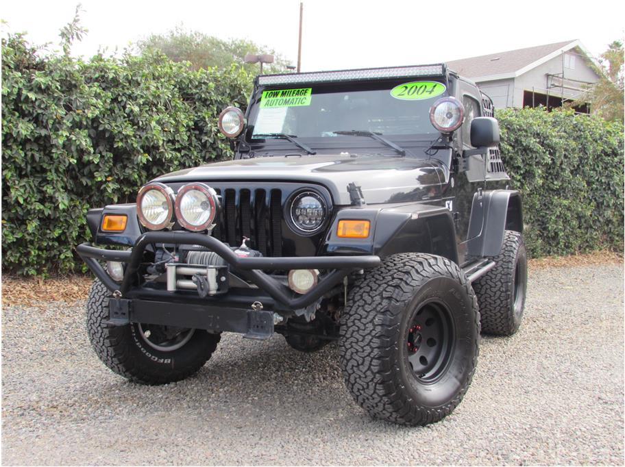 2004 Jeep Wrangler X Sport Utility 2D SOLD!!!