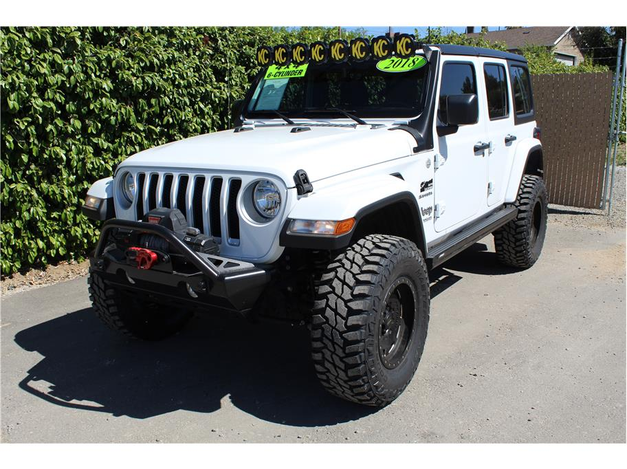2018 Jeep Wrangler Unlimited Lifted