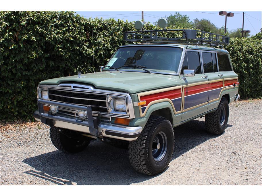 1987 Jeep Grand Wagoneer AMC SOLD!!!