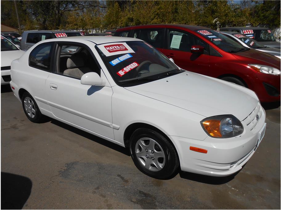 2003 Hyundai Accent Car