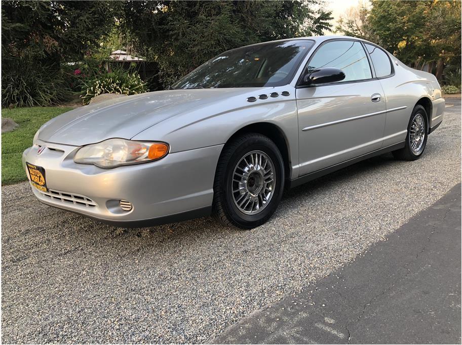 2001 Chevrolet Monte Carlo Coupe