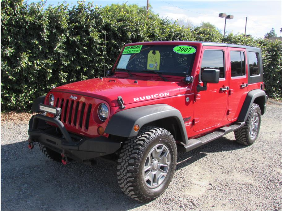 2007 jeep wrangler unlimited rubicon sport utility 4d sold. Black Bedroom Furniture Sets. Home Design Ideas