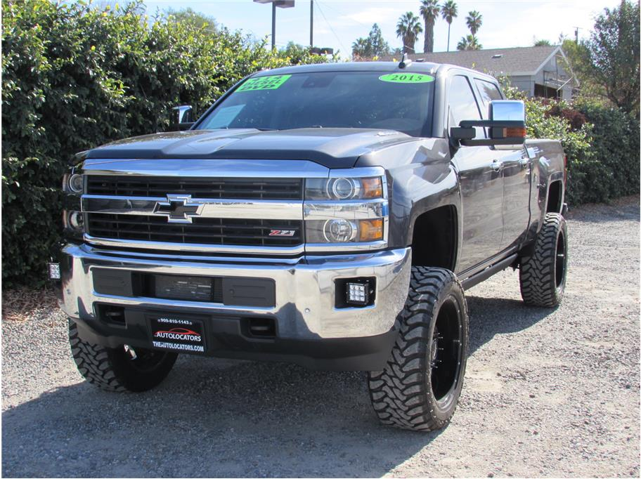 Chevy 2500 Lifted >> 2015 Chevrolet Silverado 2500 Hd Crew Cab Z71 Lifted Sold