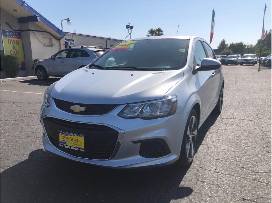 2017 Chevrolet Sonic Premier Sedan 4D