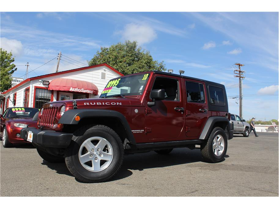 2010 Jeep Wrangler Unlimited Rubicon Sport Utility 4D