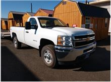 2012 Chevrolet Silverado 2500 HD Regular Cab Work Truck Pickup 2D 8 ft