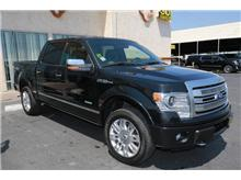 2013 Ford F150 SuperCrew Cab Platinum Pickup 4D 6 1/2 ft